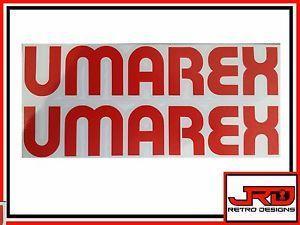 Umarex Vinyl Logo Sticker in Red