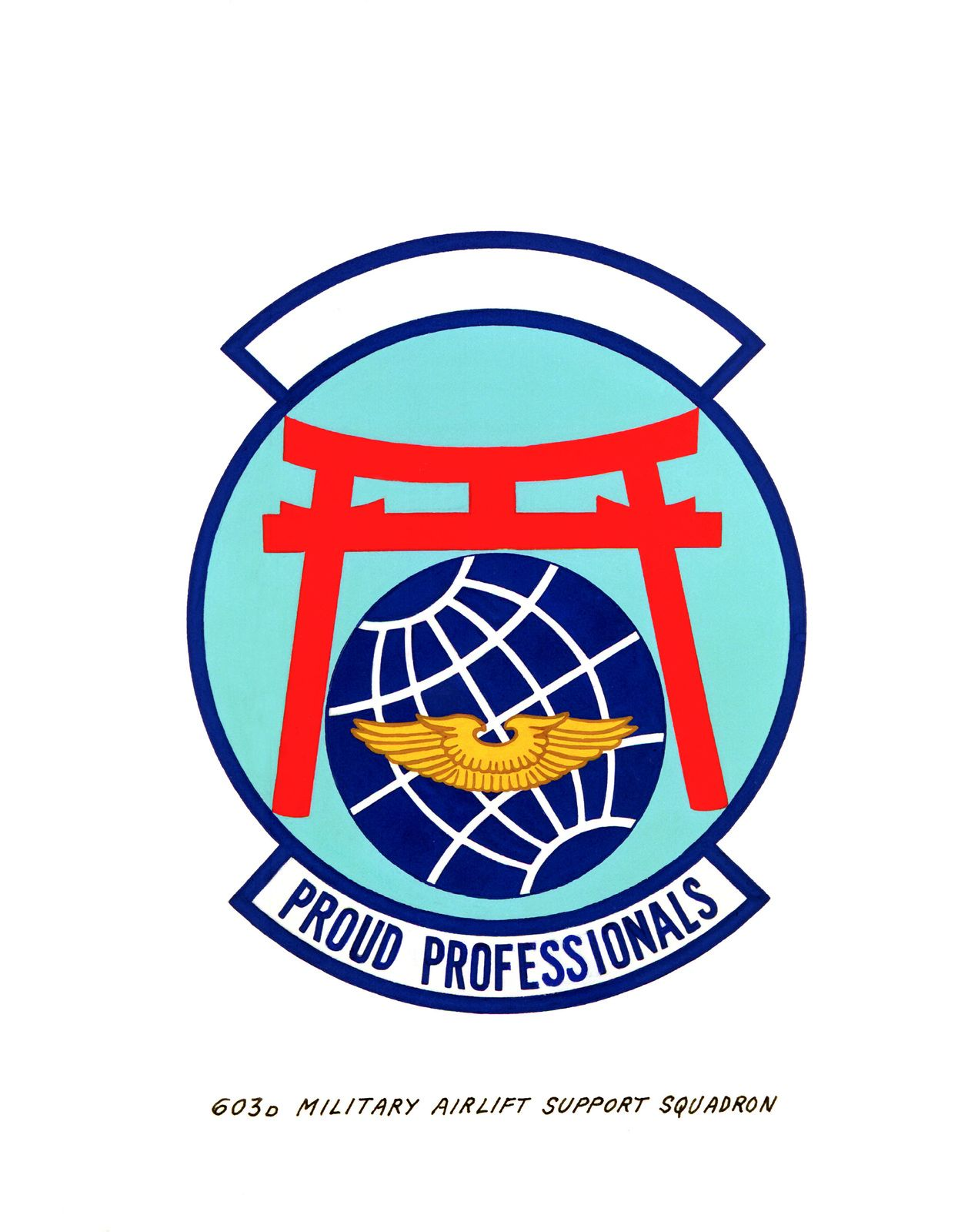 603rd Logo - Approved Insignia for: 603rd Military Airlift Support Squadron ...