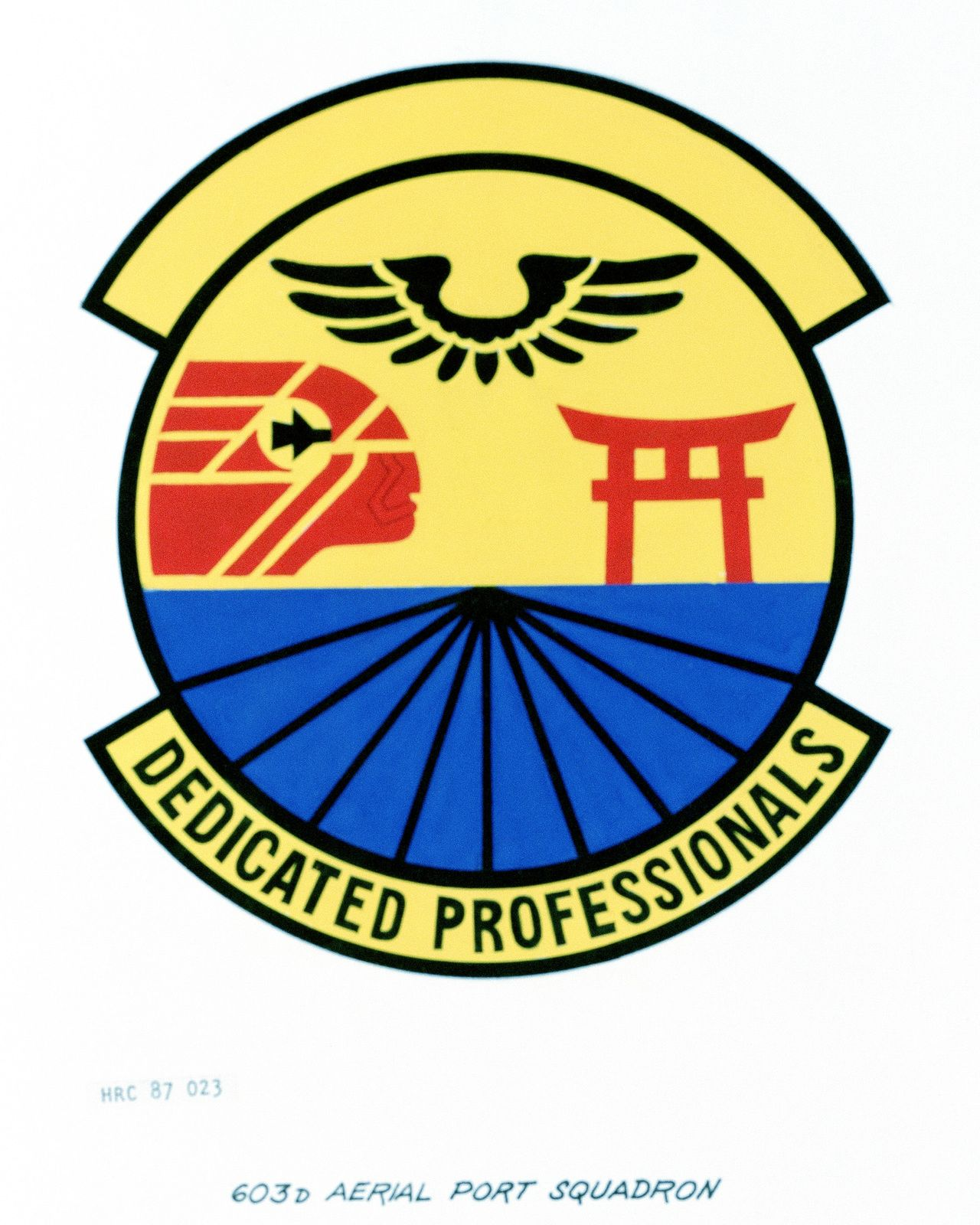 603rd Logo - Approved insignia for: 603rd Aerial Port Squadron | U.S. National ...