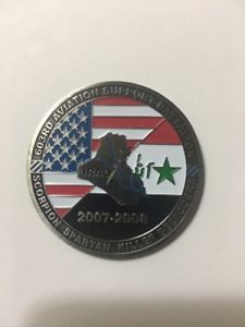 603rd Logo - 603rd Aviation Support Battalion, OIF 07-08 Challenge Coin F5 | eBay