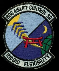603rd Logo - USAF 603rd Airlift Control Squadron Patch T&B | eBay