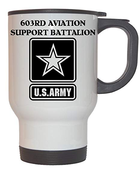 603rd Logo - Amazon.com: 603rd Aviation Support Battalion - US Army White ...