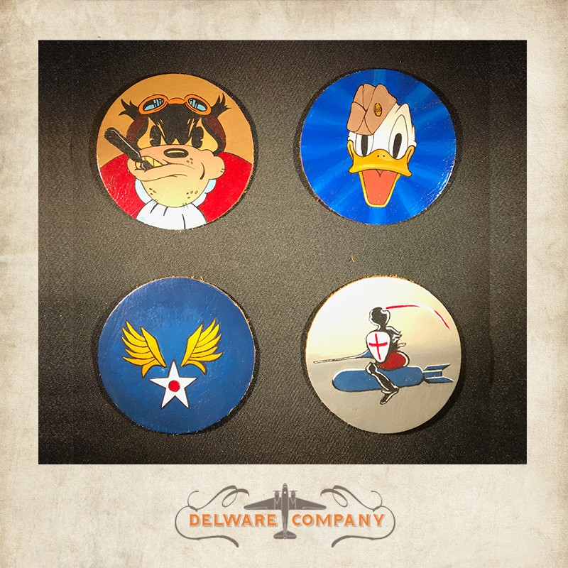 603rd Logo - Handpainted 603rd bomb squadron patch