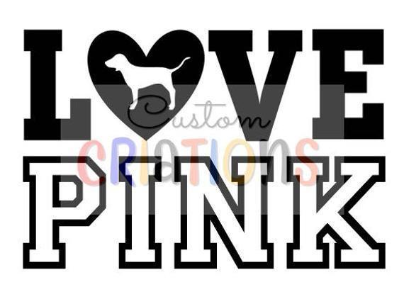Download Victoria's Secret Pink Heart Logo - LogoDix