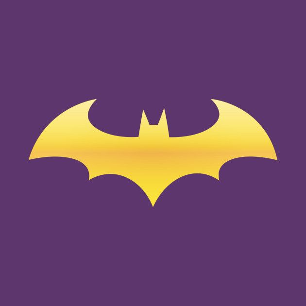 photograph about Batgirl Logo Printable called Batgirl Symbol - LogoDix