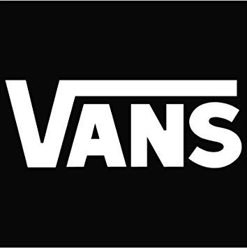 Vans Logo - Amazon.com: Vans Logo Vinyl Sticker Decal Decal-White-6 Inch: Automotive