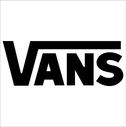 Vans Logo - Amazon.com: Vans Logo Car Window Vinyl Decal Sticker (4
