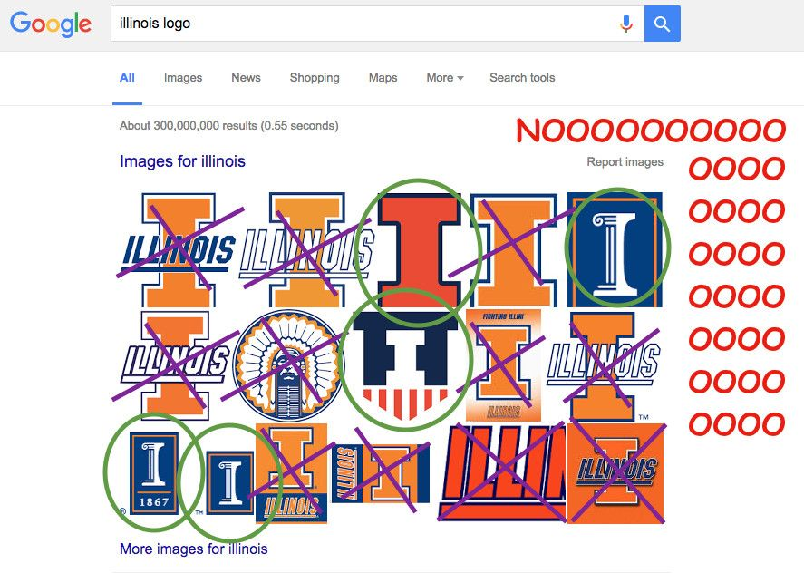 UIUC Logo - PSA: Stop using the wrong Illinois logos - The Champaign Room
