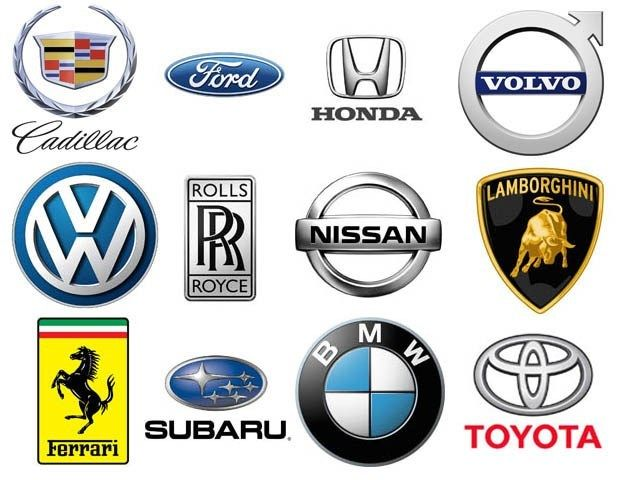 Black and Silver Car Logo - Car Logos