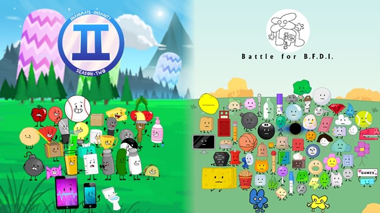 Bfb In Roblox Battle For Bfdi Roleplay Roblox Youtube Bfdia Logo Logodix