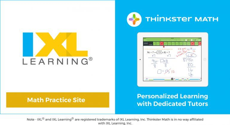 IXL Logo - How does the IXL Math program compare to Thinkster Math?