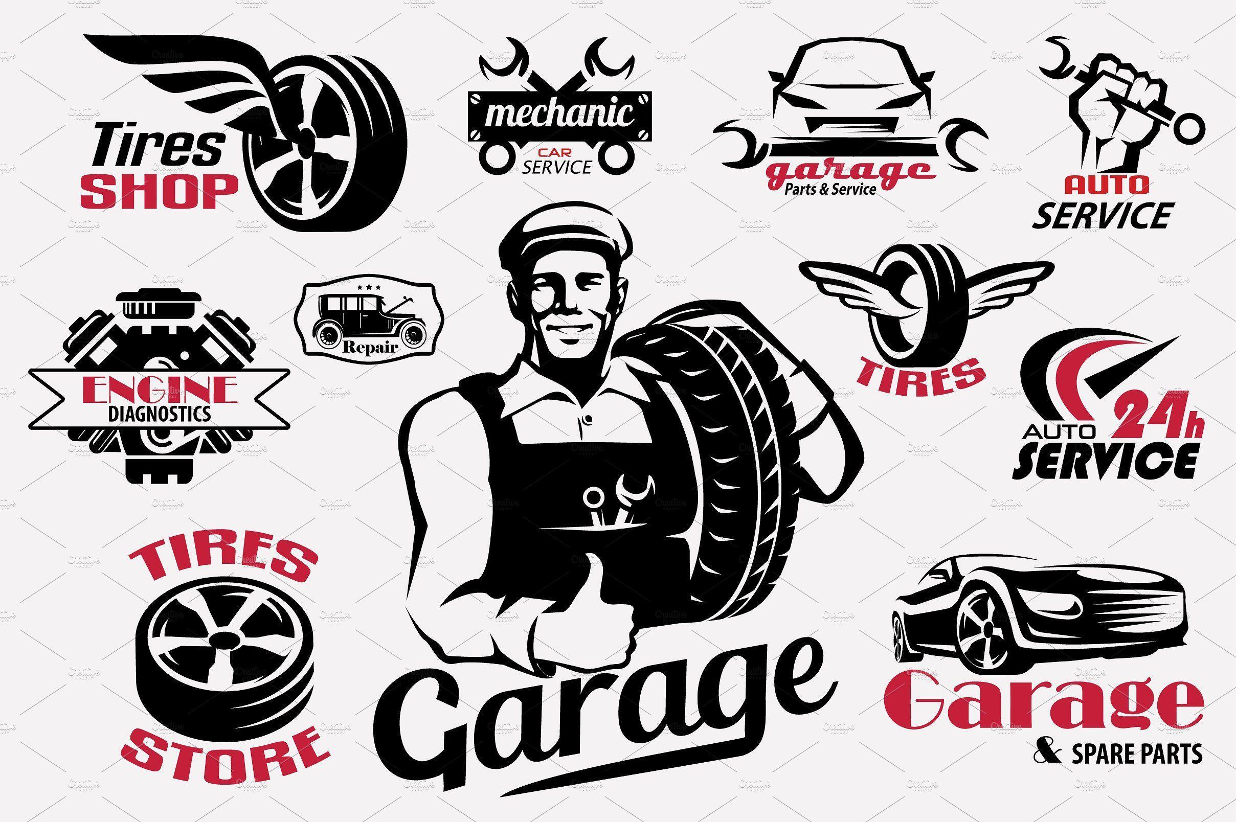 Automotive Garage Logo Logodix
