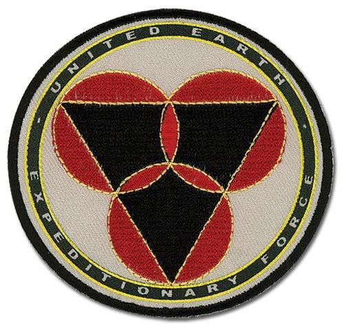 Robotech The Shadow Chronicles Mars Base Emblem Embroidered Patch NEW SEALED