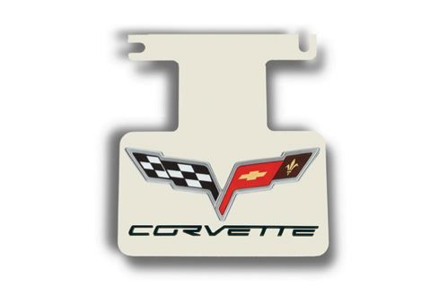 Corvette C6 OEM Logo /& Letters Exhaust Enhancer Plate