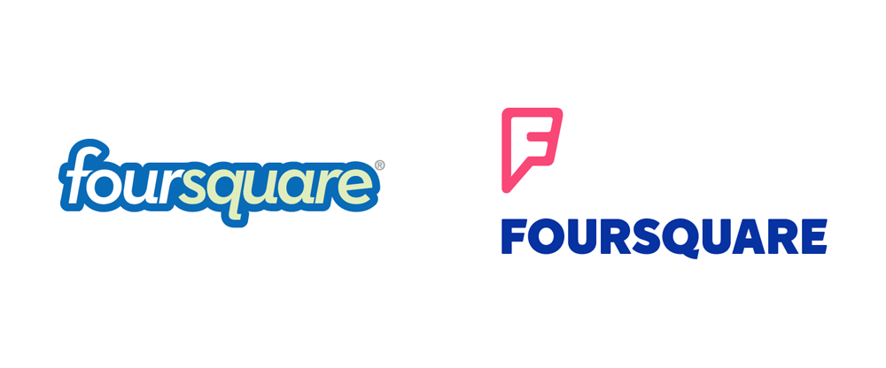 Foursquare Logo - Brand New: New Logo for Foursquare in Collaboration with Red Antler