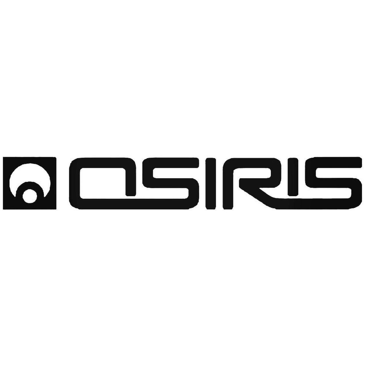 Osiris Logo - Osiris Circle Skate Logo 1 Vinyl Decal Sticker
