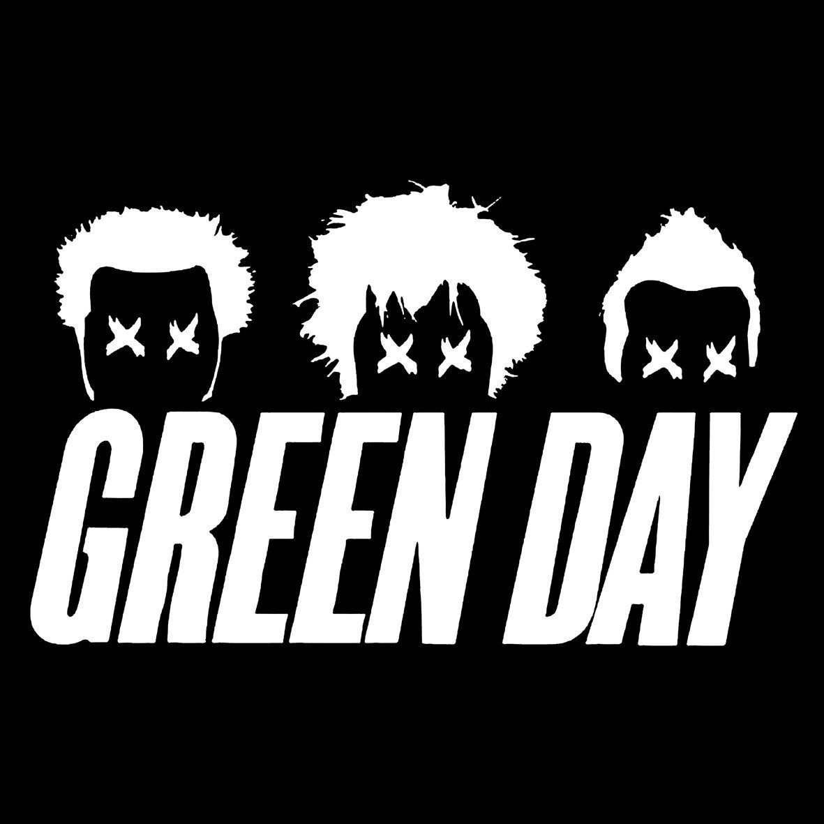 Green Day Black And White Logo Logodix Used on their second album, kerplunk (1992) and their first ep album, 1,000 hours. green day black and white logo logodix