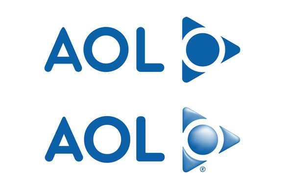 AOL Logo - AOL's (AOL) Logo History -- From Control Video Corporation to ...