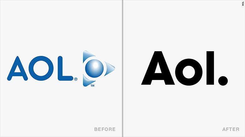 AOL Logo - AOL - Logo changes that drove people crazy - CNNMoney