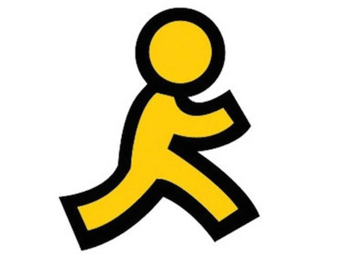 AOL Logo - Here's The Story Behind AOL's Iconic Yellow Running Man Logo ...