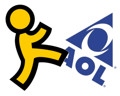 AOL Logo - What Ever Happened To AOL? | Internet History Podcast