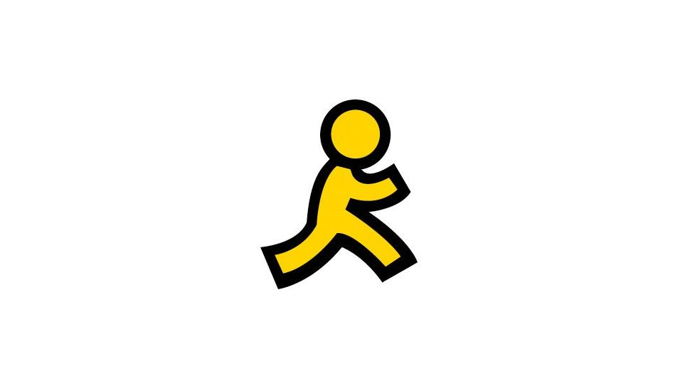 AOL Logo - You know AOL's yellow running man logo? The story behind it is ...
