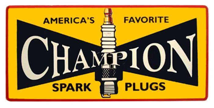 discount casual shoes best supplier Vintage Champion Spark Plug Logo - LogoDix