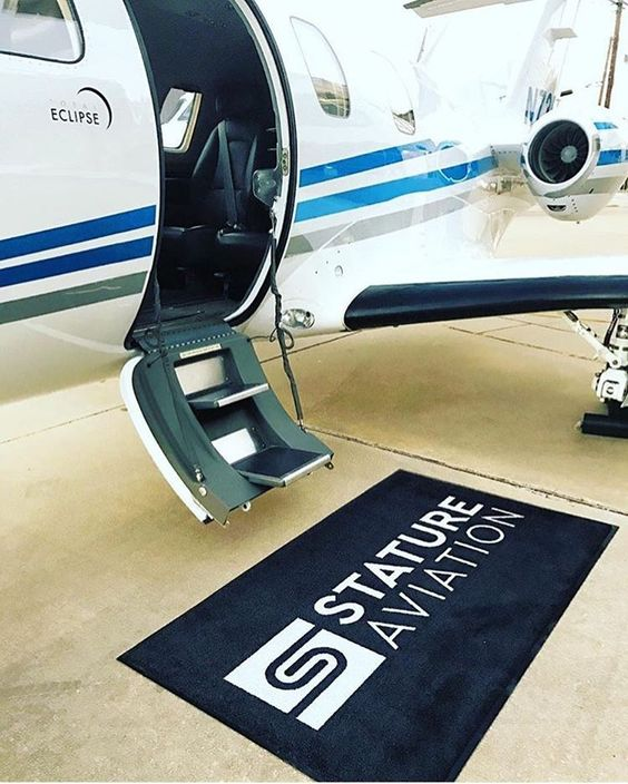 Airplanes Logo - Custom Rugs For Private Airplanes - Custom Logo Rugs - Rug Rats