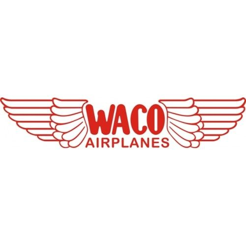 Airplanes Logo - Waco Airplanes Aircraft Logo,Vinyl Graphics Decal