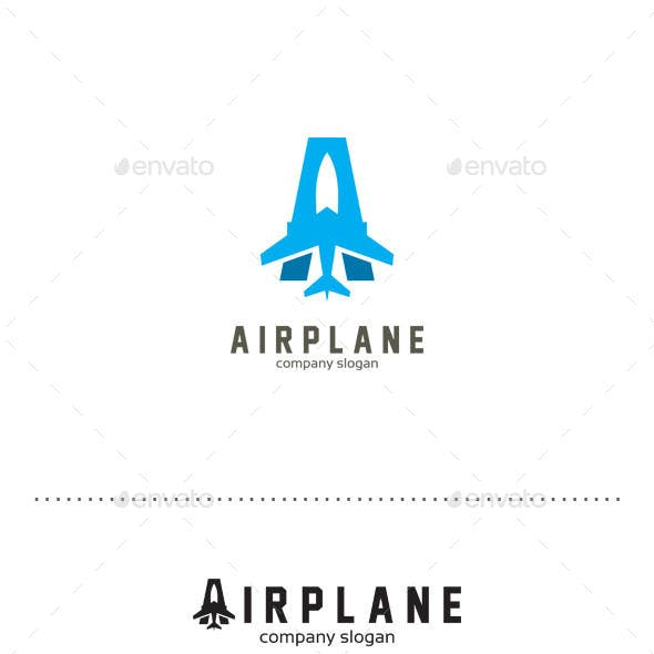 Airplanes Logo - Airplanes Jet Logo Templates from GraphicRiver