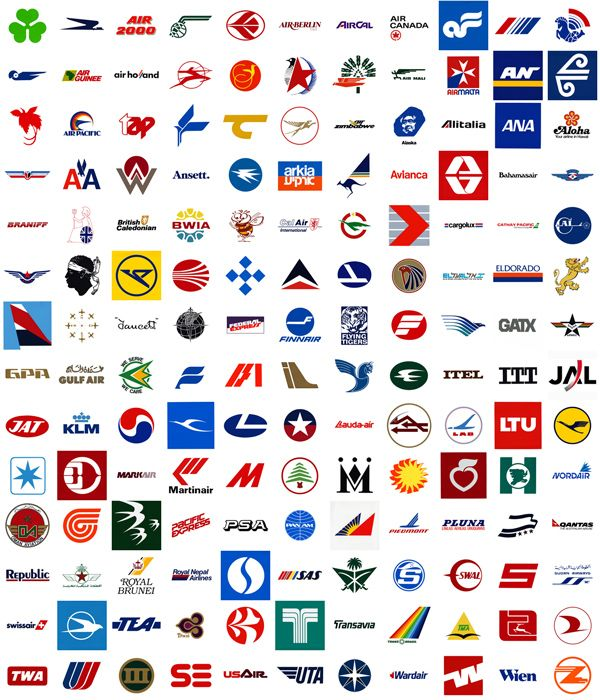 Airplanes Logo - Airline Logos - Learn About Airplanes