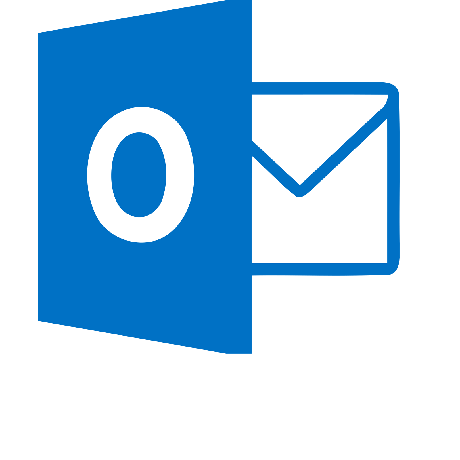 Outlook Transparent Logo - LogoDixOutlook Logo Png