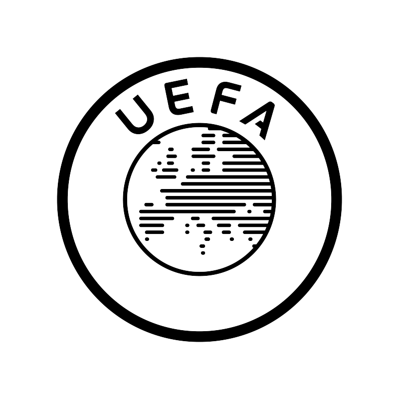 UEFA Logo - EURO 2016 Football, UEFA, offset