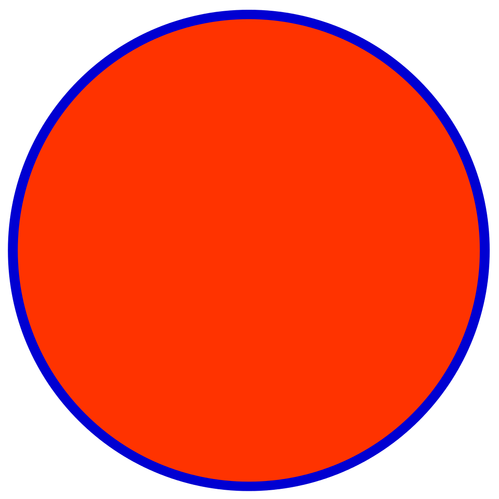 Blue Red Circle with Line Logo - File:Red blue circle.svg - Wikimedia Commons