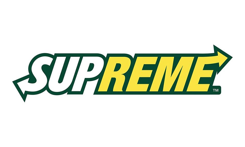 Cool Supreme Logo - See Today's Most Iconic Brand Logos Mixed and Matched