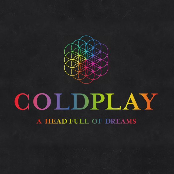 Coldplay Logo - A Head Full of Dreams Tour Font