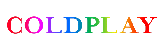 Coldplay Logo - Logo coldplay png 2 » PNG Image