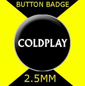 Coldplay Logo - COLDPLAY - LOGO - Button Badge 25mm # CD 22 | eBay