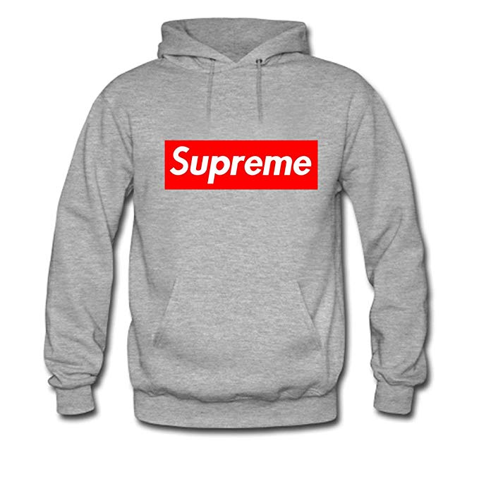 Cool Supreme Logo - Fall& Winter- Men's Supreme Logo Cool Graphic Pullover Hoodie ...