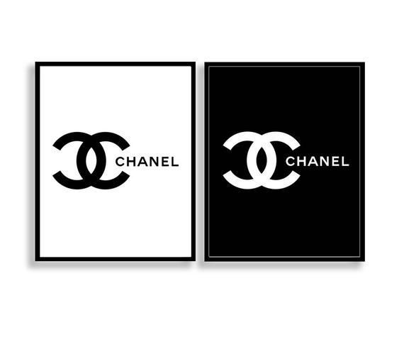It's just an image of Printable Chanel Logo with downloadable
