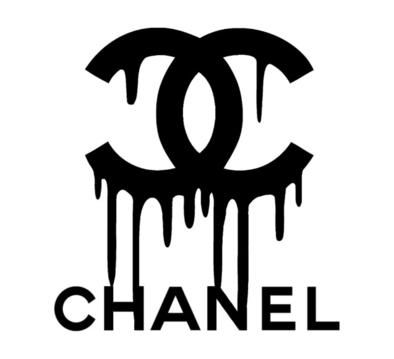 Chanel Logo - CHANEL DRIP LOGO VINYL PAINTING STENCIL SIZE PACK *HIGH QUALITY* – ONE15