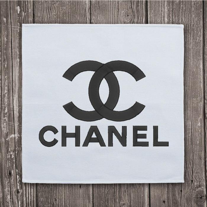 Chanel Logo - Chanel logo 2 embroidery design instant download