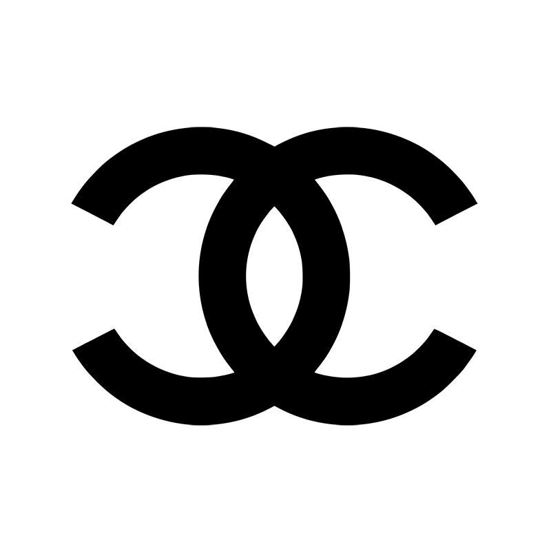 Chanel Logo - SILVER MIRROR NAME SIGN, BACKDROP SIGNS, CUSTOM ACRYLIC WALL PLAQUES ...