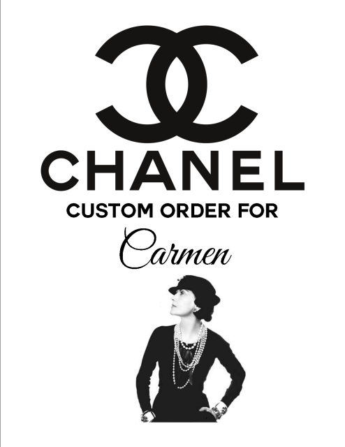 Chanel Logo - DIY CoCo Chanel Inspired Black Cupcake Wrappers with Chanel logo ...
