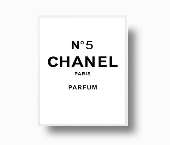picture relating to Printable Chanel Logo referred to as Parfum Chanel Symbol - LogoDix
