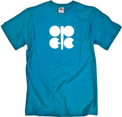 OPEC Logo - OPEC Logo Cool Blue Shirt