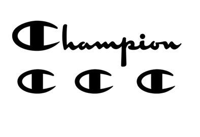 Champion Logo - CHAMPION LOGO VINYL PAINTING STENCIL SIZE PACK *HIGH QUALITY* – ONE15