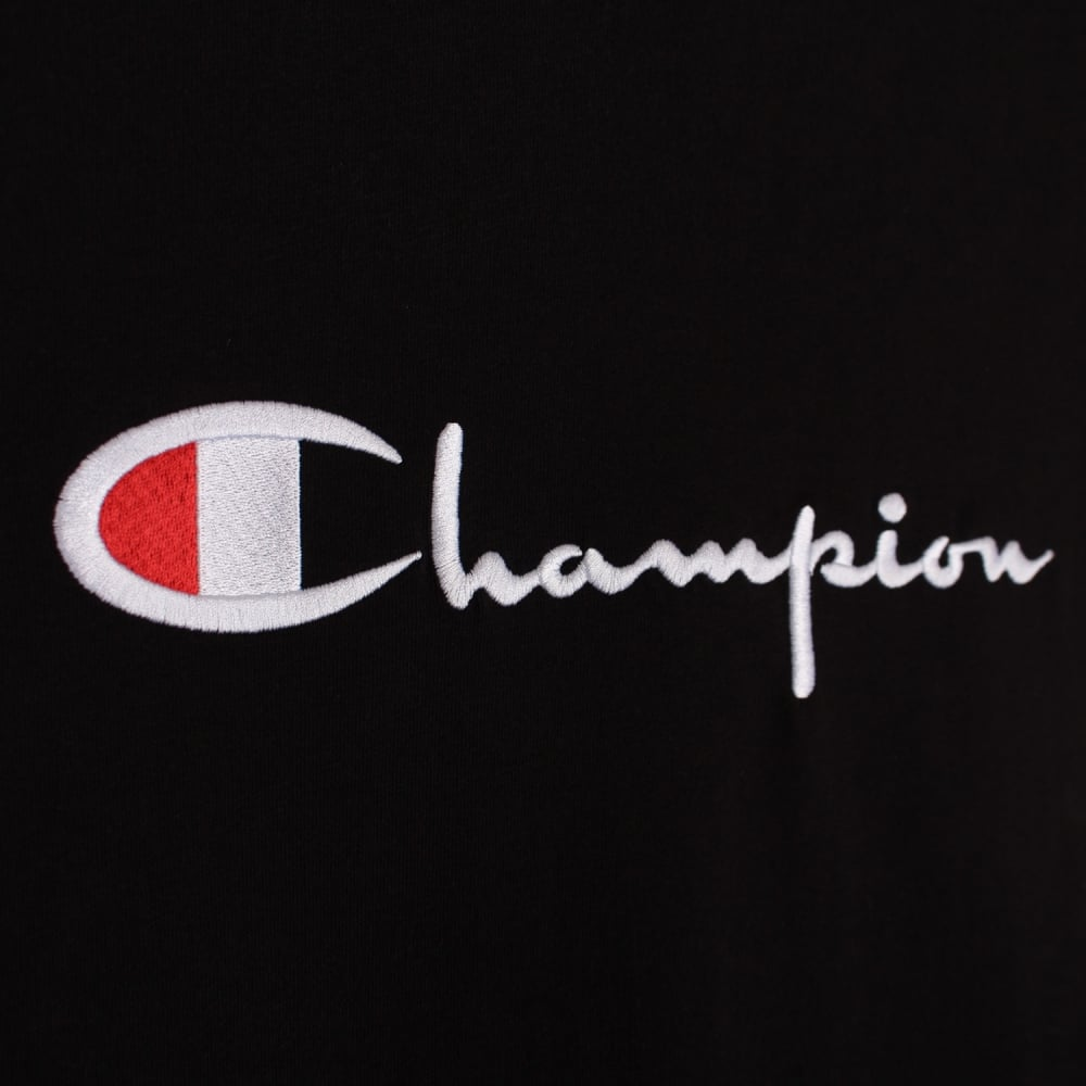 Champion Logo - Champion Women's Reverse Weave Crewneck T-shirt - Embroidered Script ...