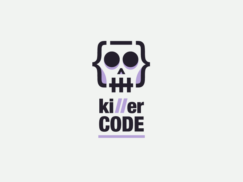 Code Logo - Killer Code Logo by Kira Chao on Dribbble