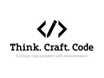 Code Logo - Think Craft Code - Logo V2 by Matt Ward | Dribbble | Dribbble